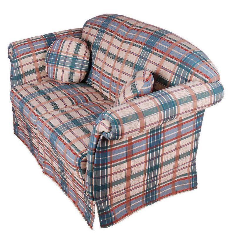 2er sofa von geparde federkern couch. Black Bedroom Furniture Sets. Home Design Ideas