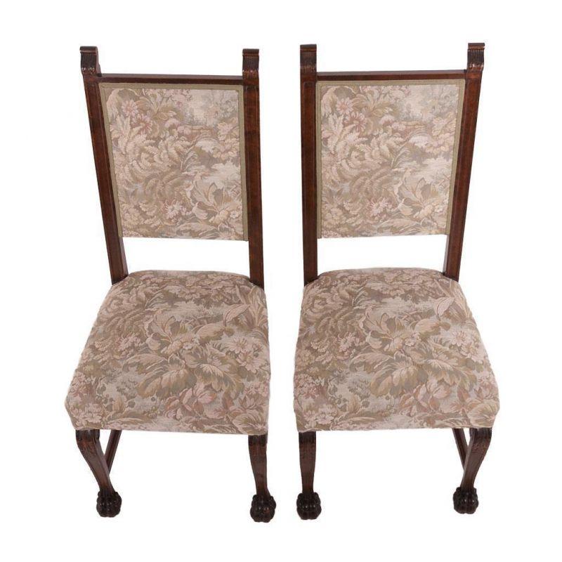 zwei altdeutsche st hle eiche rustikal. Black Bedroom Furniture Sets. Home Design Ideas