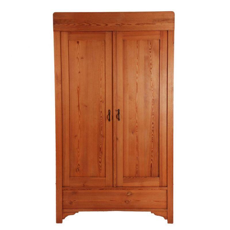 antik kleiderschrank kiefer 2 t rig ca 1910 20 dielen meh. Black Bedroom Furniture Sets. Home Design Ideas