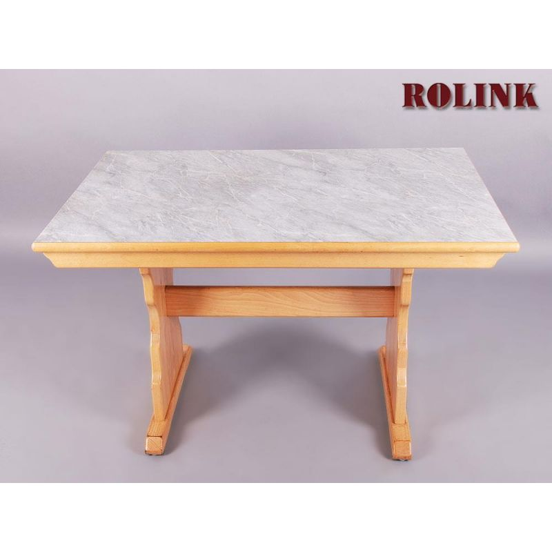 Esstisch wohnzimmertisch buche marmor optik for Esstisch marmor ausziehbar