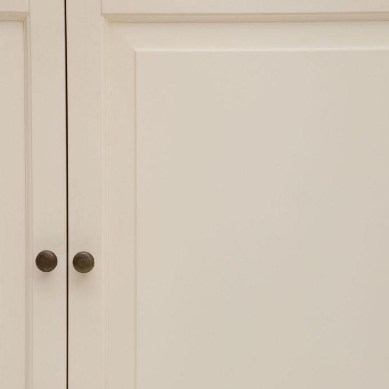 vitrinenschrank in wei. Black Bedroom Furniture Sets. Home Design Ideas