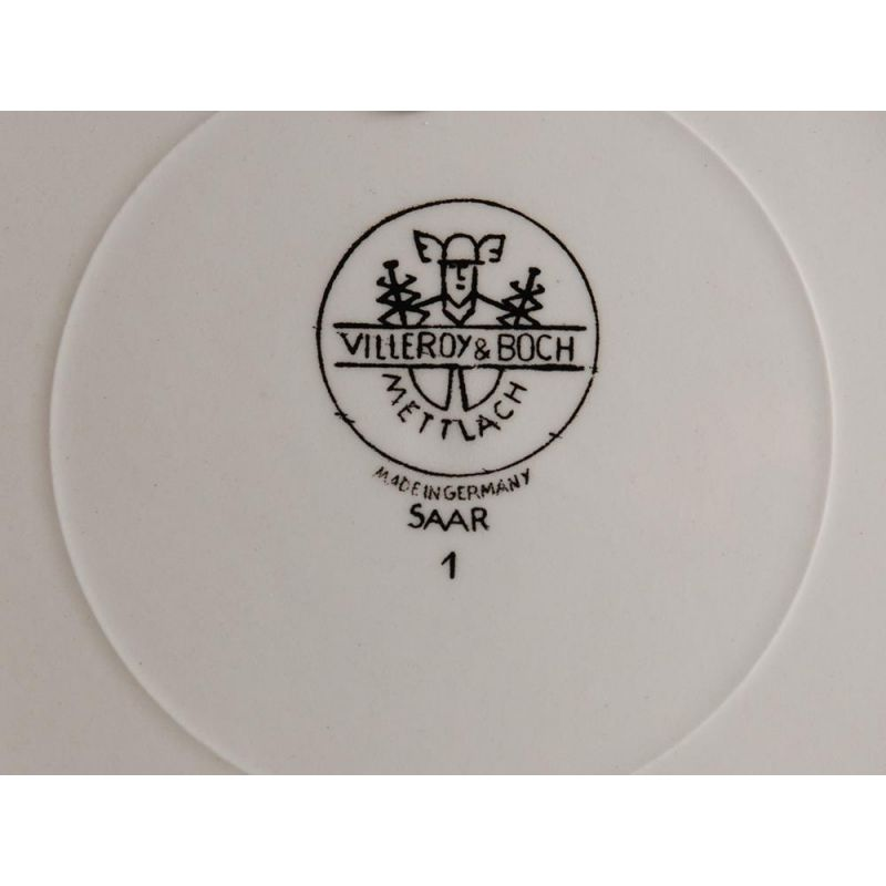wandteller sammelteller nr 1 france villeroy boc. Black Bedroom Furniture Sets. Home Design Ideas