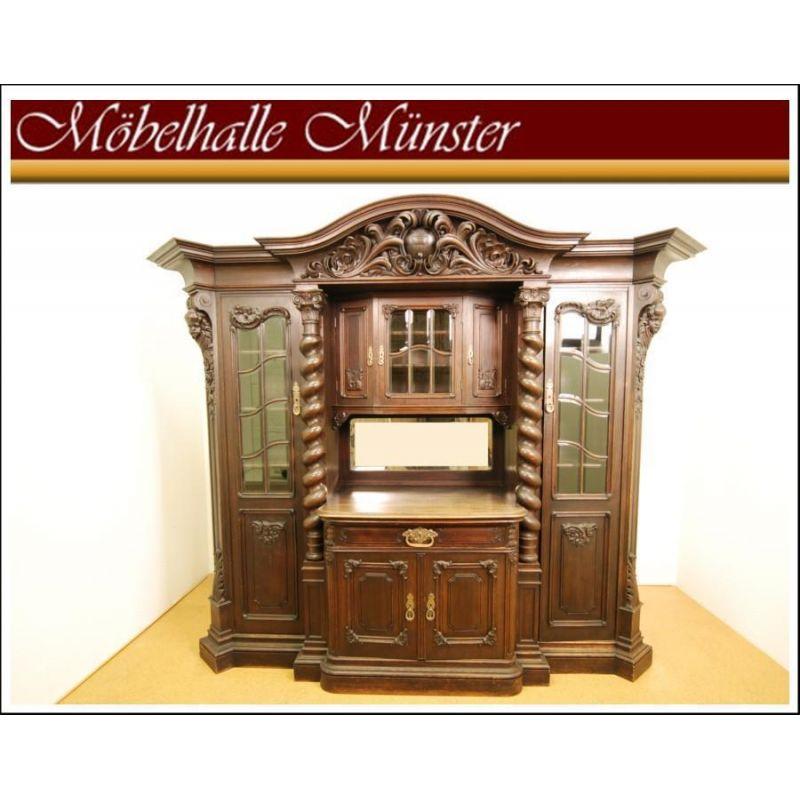 Barockesszimmer 2te Zeit Um 1900 Buffet, Tisch Und Stühle