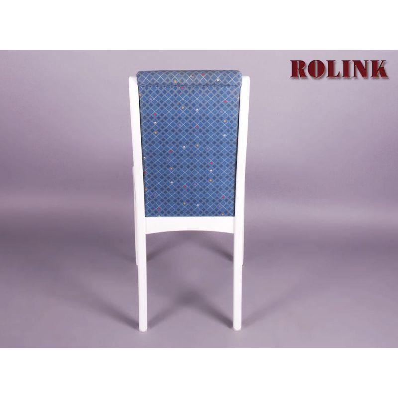 Esszimmerstühle, 4er Set, weiß lackiert » rolink.de