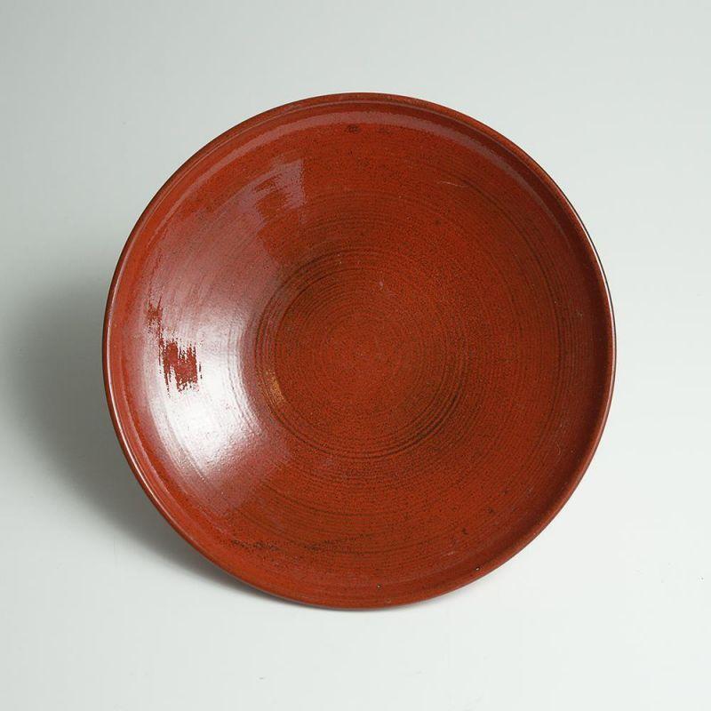 keramik steingut obst teller schale in rot pr gung. Black Bedroom Furniture Sets. Home Design Ideas