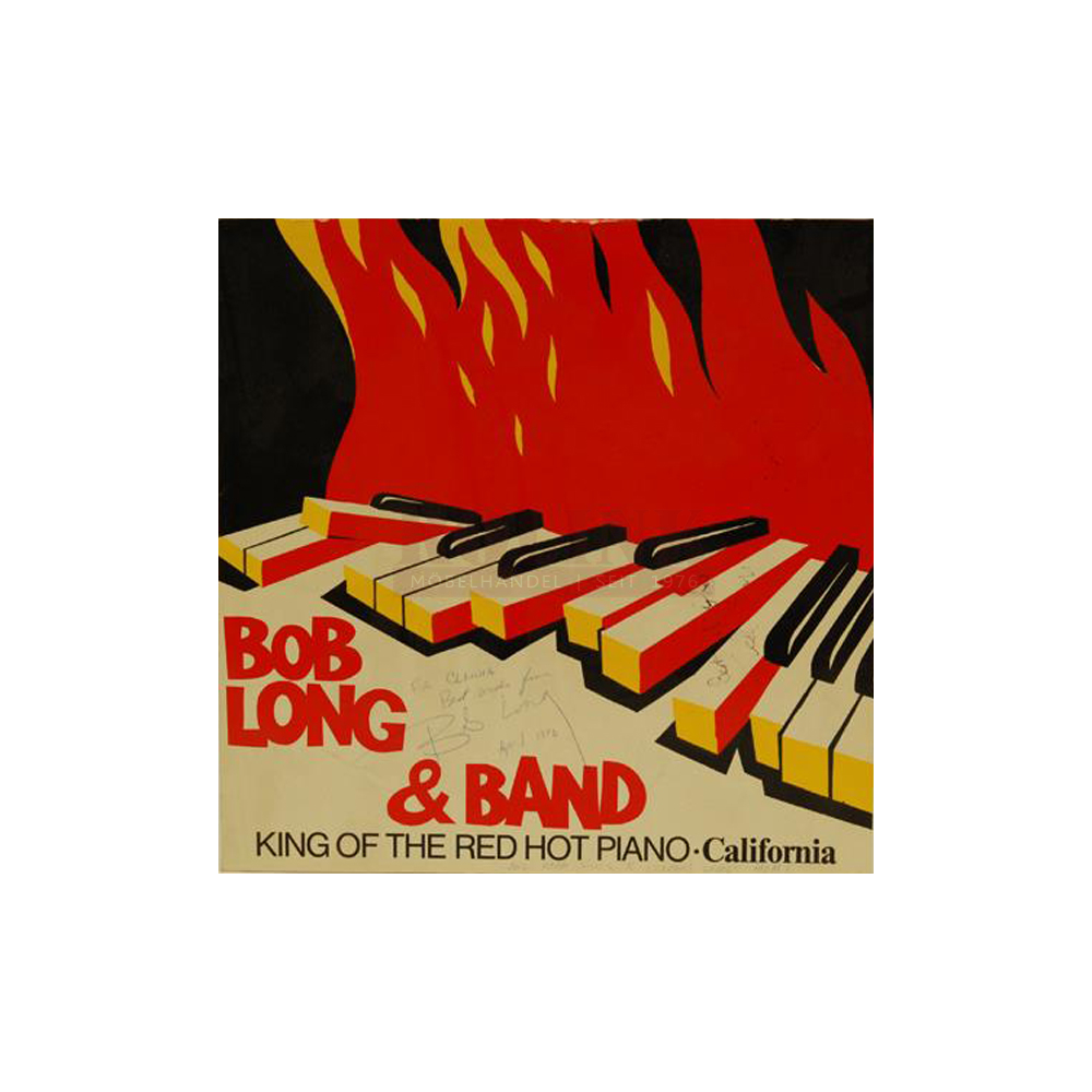 Schallplatte King Of The Red Hot Piano - California Bob Long & Band LP 1987