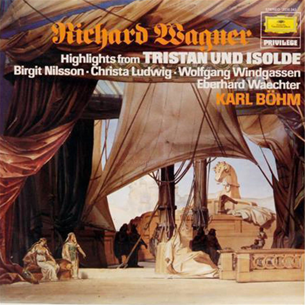 Schallplatte Highlights from Tristan und Isolde Wagner Karl Böhm LP