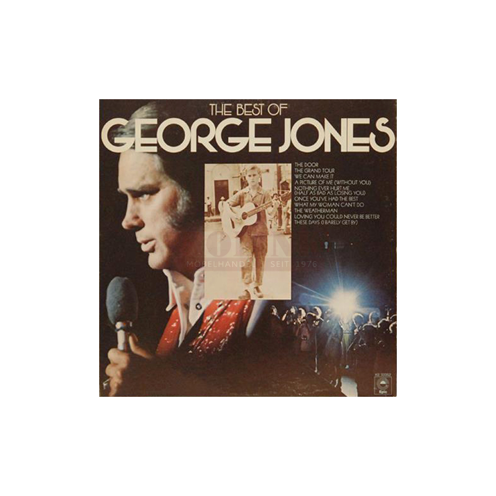 Schallplatte The Best of George Jones George Jones LP 1975