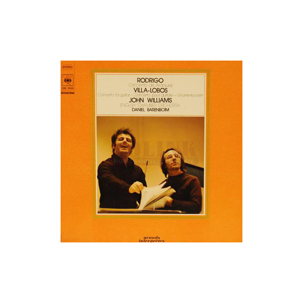 Concierto de Aranjuez : for guitar and orchestra / Rodrigo. John Willams