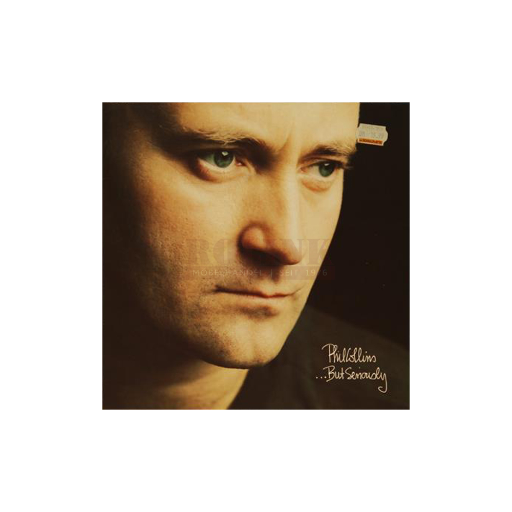 Schallplatte ...But Seriously Phil Collins LP 1989