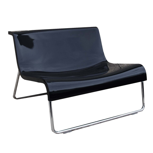 Design Lounge Sessel Form Piero Lissoni Schwarz